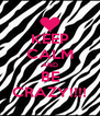 KEEP CALM AND BE CRAZY!!!! - Personalised Poster A4 size