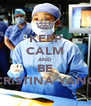 KEEP CALM AND BE CRISTINA YANG - Personalised Poster A4 size