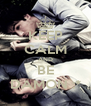 KEEP CALM AND BE DAMON :* - Personalised Poster A4 size