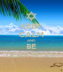 KEEP CALM AND BE DEAR-BHAIL - Personalised Poster A4 size