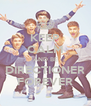 KEEP CALM AND BE DIRECTIONER FOREVER - Personalised Poster A4 size