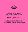 KEEP CALM AND BE FABULOUS LIKE REITU, TIYANI,  NTSAKISI,NTSAKO  AVIVA,EMI AND SAM VDB - Personalised Poster A4 size