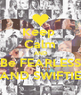 Keep  Calm AND Be FEARLESS AND SWIFTIE - Personalised Poster A4 size