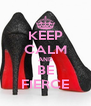 KEEP CALM AND BE FIERCE - Personalised Poster A4 size
