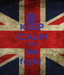 KEEP CALM AND be fryki  - Personalised Poster A4 size