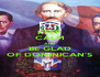 KEEP CALM AND BE GLAD OF DOMINICAN'S - Personalised Poster A4 size