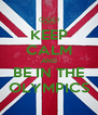 KEEP CALM AND BE IN THE OLYMPICS - Personalised Poster A4 size