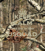 KEEP CALM and be in the USQUAD  - Personalised Poster A4 size