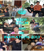 KEEP CALM AND BE IN4MATION 2013 - Personalised Poster A4 size