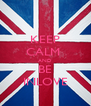 KEEP CALM  AND BE INLOVE - Personalised Poster A4 size