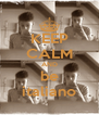 KEEP CALM AND be italiano - Personalised Poster A4 size