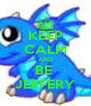 KEEP CALM AND BE  JEFFERY - Personalised Poster A4 size