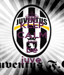 KEEP CALM AND be juve - Personalised Poster A4 size