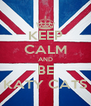 KEEP CALM AND BE KATY CATS - Personalised Poster A4 size