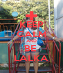 KEEP CALM AND BE  LALKA - Personalised Poster A4 size