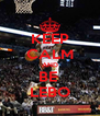KEEP CALM AND BE  LEBO - Personalised Poster A4 size