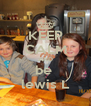 KEEP CALM AND be  lewis L - Personalised Poster A4 size