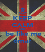 KEEP CALM AND  be like me omar - Personalised Poster A4 size