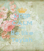 KEEP CALM AND Be like Taylah - Personalised Poster A4 size