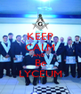 KEEP CALM AND  Be LYCEUM - Personalised Poster A4 size