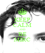 KEEP CALM AND BE MIRC - Personalised Poster A4 size