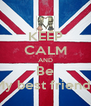 KEEP CALM AND Be My best friends - Personalised Poster A4 size
