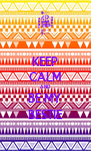KEEP CALM AND BE MY BESTIE - Personalised Poster A4 size