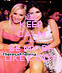 KEEP CALM AND BE MY BF LIKE CODY - Personalised Poster A4 size