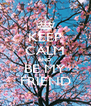 KEEP CALM AND BE MY FRIEND - Personalised Poster A4 size