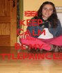 KEEP CALM AND BE MY  LITTLEPRINCESS - Personalised Poster A4 size