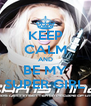 KEEP CALM AND BE MY SUPER GIRL - Personalised Poster A4 size