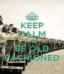 KEEP CALM AND BE OLD FASHIONED - Personalised Poster A4 size