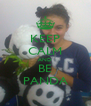 KEEP CALM AND BE PANDA - Personalised Poster A4 size