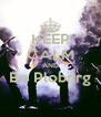KEEP CALM AND Be Plobnrg  - Personalised Poster A4 size