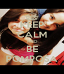 KEEP CALM AND BE POMPOSA - Personalised Poster A4 size