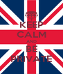 KEEP CALM AND BE PRIVATE - Personalised Poster A4 size