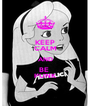 KEEP CALM AND BE  PUNK - Personalised Poster A4 size