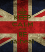 KEEP CALM AND BE ra-heal - Personalised Poster A4 size