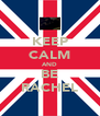 KEEP CALM AND BE RACHEL - Personalised Poster A4 size