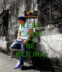 KEEP CALM AND BE ROURA - Personalised Poster A4 size