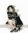 KEEP CALM AND BE SELENATORS - Personalised Poster A4 size