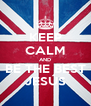 KEEP CALM AND BE THE BEST JESÚS - Personalised Poster A4 size