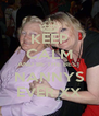 KEEP CALM AND BE THE BEST NANNYS EVER XX - Personalised Poster A4 size