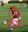KEEP CALM AND BE THE GUY™ - Personalised Poster A4 size