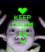 KEEP CALM AND BE U - Personalised Poster A4 size