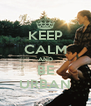 KEEP CALM AND BE URBAN - Personalised Poster A4 size