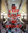 KEEP CALM AND BE XIQUET - Personalised Poster A4 size