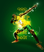KEEP CALM AND beat bolt - Personalised Poster A4 size