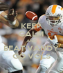 KEEP CALM AND BEAT VANDY GO VOLS - Personalised Poster A4 size