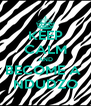 KEEP CALM AND BECOME A  NDUDZO - Personalised Poster A4 size